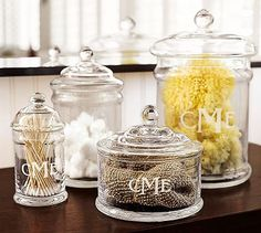 classic glass canisters