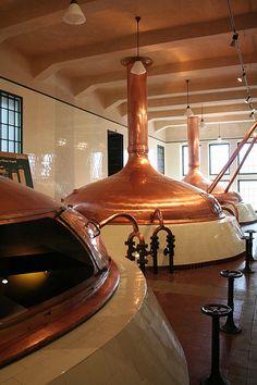 Plzen - Pilsner Urquell Brewery, brewing copper