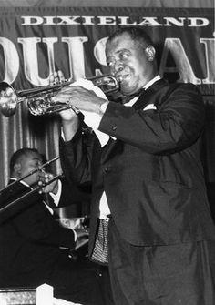 Louis Armstrong - Jazz Musician