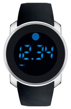 Movado Digital Rubber Strap Watch available at #Nordstrom