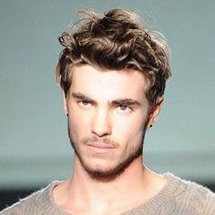 Image result for boys hair wavy on top