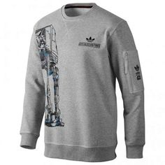wholesale dealer bc9c1 67568 Star Wars x adidas Originals - Hoth Blizzard Force AT-AT Sweatshirt Star  Wars Sweatshirt