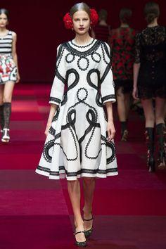 Dolce & Gabbana SS'15 MFW - RTW