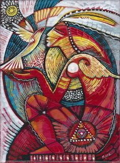 Images of Spirit, Empowering Women, Honoring the Sacred Feminine 'Primal Essence' Mara Friedman