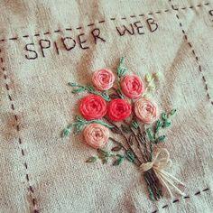 #Embroidery#stitch#needlework#stitch book#spider web #프랑스자수#일산프랑스자수#자수#자수타그램#기본스티치북#스파이더 웹 #스티치 북 새로 만들기~~