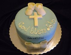 boy+christening+ideas   Baptism cake boy   Flickr - Photo Sharing!