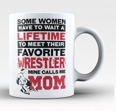 Some women have to wait a lifetime to meet their favorite soccer player mine calls me mom! The perfect mug for any proud soccer mom! Order yours today. Take advantage of our Low Flat Rate Shipping - o Grandma Mug, Dad Mug, Call My Dad, Call Me, What Is Sleep, Soccer Motivation, Unique Coffee Mugs, Freestyle, Football Players