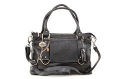 """Handtasche """"Gallery"""" von Catwalk Collection - Noir - Größe: B: 33 H: 25 T: 13 cm"""
