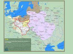 Granice Polski - od Mieszka I do współczesności - Poland's borders- from 990 - 2011 AD