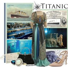 An awesome collection of Titanic fashion