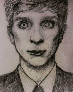 one more time ✏ #intheflesh #kierenwalker #art #drawing #pencil