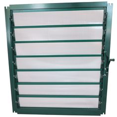Grandio Louver Window with Auto Louver Opener Option. Greenhouse Ventilation, Ventilation System, Best Greenhouse, Greenhouse Ideas, Greenhouse Supplies, Heating And Cooling, Windows, Greenhouses, Wall