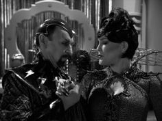 Bride of Chaotica!  Captain Janeway as Arachnia, Queen of the Spider People with her beloved Chaotica...