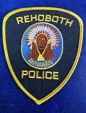 REHOBOTH, MASSACHUSETTS POLICE SHOULDER PATCH