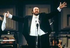 """Luciano Pavarotti (1935–2007) - Classical Singer and Humanitarian -  """"Nessun dorma"""" from Giacomo Puccini's opera Turandot 1926 - (aka Giacomo Antonio Domenico Michele Secondo Maria Puccini) 1858 – 1924)"""