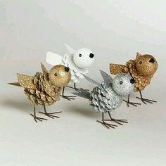 Çam Kozalağından Kuş