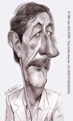 Jean Rochefort par Mulatier