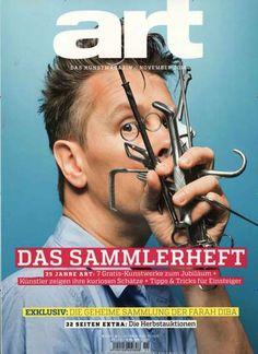 Die Geheime Sammlung der Farah Diba. Gefunden: Art das Kunstmagazin, Nr. 11/2014