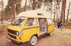 When you rent a VW Campervan from us, you'll be renting a Classic VW T25 with a bespoke interior.