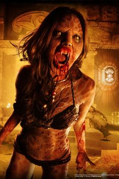 'From Dusk Till Dawn' Coming to Halloween Horror Nights Werewolf Vs Vampire, Vampire Art, Horror Art, Horror Movies, Horror Pics, Vampires, Dawn Images, Near Dark, Halloween Horror Nights