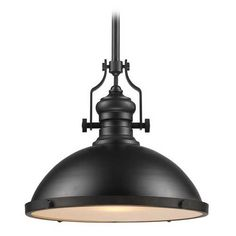 Elk Lighting Nautical Pendant Light in Oiled Bronze Finish - 17-Inches Wide | 66138-1 | Destination Lighting