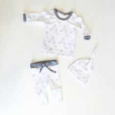Gender neutral baby outfit.