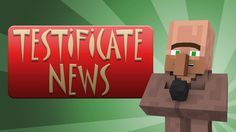 Testificate News (Villager News 2 Extra) Minecraft Comics, Minecraft Funny, Minecraft Videos, How To Play Minecraft, Minecraft Stuff, Gaming Facts, News Memes, Minecraft Creations, World Of Gumball