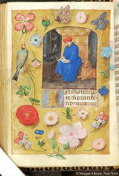Book of Hours, MS S.7 fol. 50v - Images from Medieval and Renaissance Manuscripts - The Morgan Library & Museum