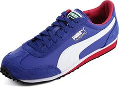 29fd6df3f9e4 PUMA Men s Whirlwind Classic Dazzling Blue White Rose Red... http