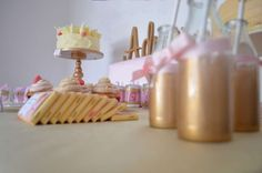 Adrianna's Pink and Gold Dora Party | CatchMyParty.com