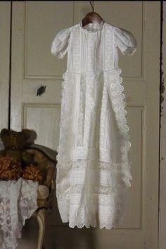 アンティーク ベビードレス