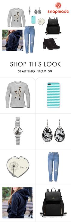 """""""snapmade #7"""" by pegiiisu ❤ liked on Polyvore featuring WithChic and Red Herring"""