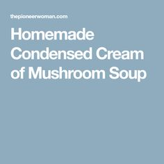 Easy Slow Cooker Smothered Pork Chops with Mushroom and Onion Gravy Homemade Mushroom Soup, Creamy Mushroom Soup, Creamy Mushrooms, Stuffed Mushrooms, Chicken Rice Casserole, Noodle Casserole, Mushroom Pork Chops, Mushroom And Onions, Cream Soup Substitute