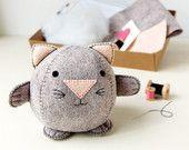 Make Your Own Snail Keyring Kit - Sewing Kit. £8.95, via Etsy.