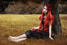 Justyna Tobolska Red apple by absentia-veil.deviantart.com on @DeviantArt