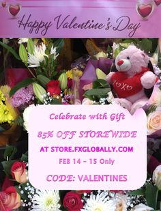 Happy Valentine's Day! Celebrate Valentine's Day with Gift – 85% OFF STOREWIDE AT STORE.FXGLOBALLY.COM – OFFER ONLY FOR FEBRUARY 14 – 15. USE PROMOTION CODE: VALENTINES     - Emerge in the world of fun, wonder, uniqueness, full of fascinating and amazing topics. #Currencies, #Economies, #Technology, #Travel, #Luxury, #Fashion, #Cosmetics, Food, Shopping, Sport & More. #chocolate #candy #love  #valentine #ValentinesDay #Valentines #flowers #roses #floral #candy #cake #romance #fx #forex