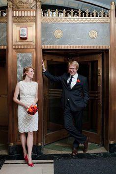 Real Wedding Album: Kelly & Patrick Courthouse Wedding in New York City Hall Wedding, New York Wedding, Wedding Events, Wedding Dress Suit, Wedding Dresses, Courthouse Wedding Photos, Wedding Album, Wedding Planner, Wedding Shot