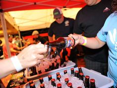 Blues & Brews annual beer festival during ABQ Beer Week in Albuquerque