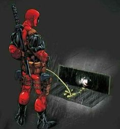 Deadpool going to warch IT - Fuck you, Pennywise. Deadpool Funny, Marvel Funny, Marvel Vs, Marvel Memes, Marvel Dc Comics, Deadpool Superhero, Deadpool Stuff, Deadpool Art, Deadpool Wallpaper
