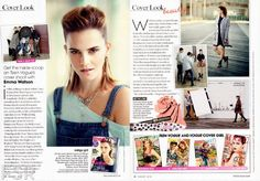 Emma Watson - Teen Vogue Magazine, August 2013 : Global Celebrtities (F) - FunFunky.com