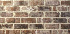 Nichiha VintageBrick™ Siding Wall Panel (9 sq. ft.) at Menards® White Wash Walls, White Wash Brick, Interior Walls, Interior And Exterior, Brick Wall Paneling, Brick Walls, Exterior Wall Panels, Stone Veneer Siding, Brick Face