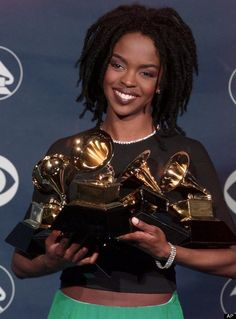 Lauryn Hill,i loved her music when she first started talented lassie, but I cant forget she was racist such a shame
