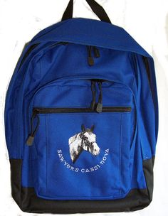 b5c22c2bd510 Paint Horse Backpack Book Bag - Personalized