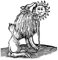 The Green Lion Devouring the Sun
