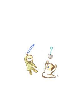 Luke & Leia - Star Wars