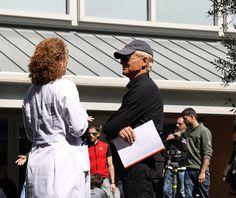 Don Matteo al Campus Bio-Medico: lo stile inconfondibile di Terence Hill.