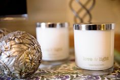 Love & Light soy candles