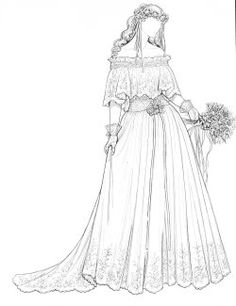BEAUTIFUL BRIDAL GOWNS OF THE 1980'S