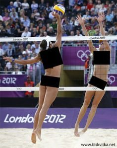 Beach Volleyball with censorship » Biskvitka.net - The First Bulgarian Entertainment Portal