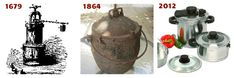 Article:  pressure cookers seem healthy. pressure cookers throughout history